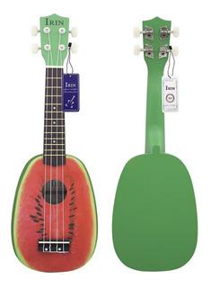 Ukelele 4 Cuerdas 21 Pulgadas Irin Diseño Sandía Instrumento