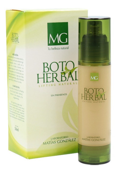 Boto Herbal Lifting Antiarruga Rejuvenecedor Matías González