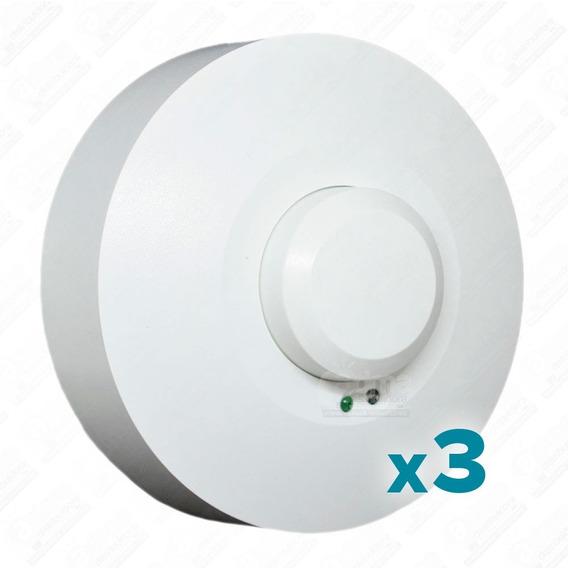 Sensor Movimiento Huayra Aplicar Alta Frecuencia Led Pack X3