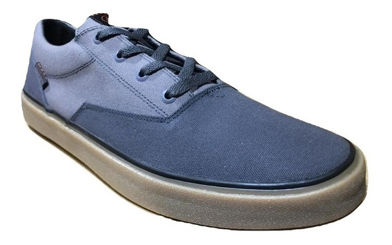 Zapatillas Volcom Draw Lo Shoe Lona Grey Combo