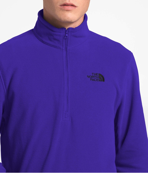 Suéter Polar Hombre The North Face Tka 100 Azul Azteca