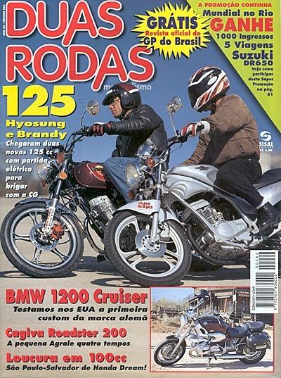 2r.262 Jul97- Bmw1200 Brandy Hyosun Gf125 Cagiva200 Honda Cg