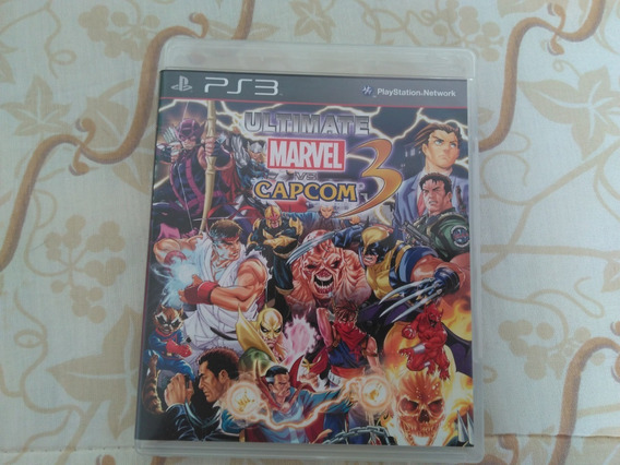 Jogo Ultimate Marvel Vs Capcom 3 Ps3