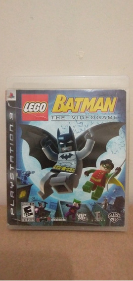 Jogo Lego Batman The Vídeo Game Mídia Física Ps3