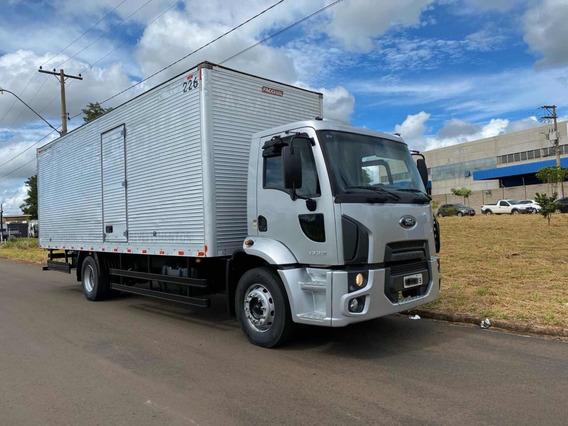 Ford Cargo 1722 2012 Bau De Aluminio 8,50 Revisado
