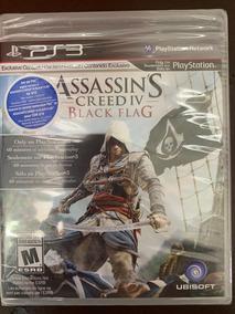 Jogo Assassins Creed Iv Black Flag Ps3 Midia Fisica