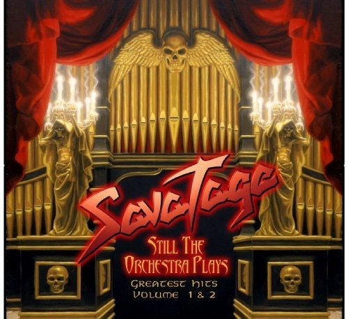 Cd : Savatage - Still The Orchestra Plays (germany - Import)