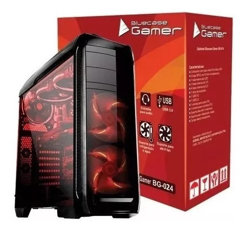 Pc Gamer Intel I5 7ºg + 8gb + 1tb + Hdmi Wifi + Gtx 1050 Ti