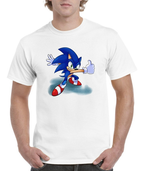 Padrisima Playera Figuras Sonic