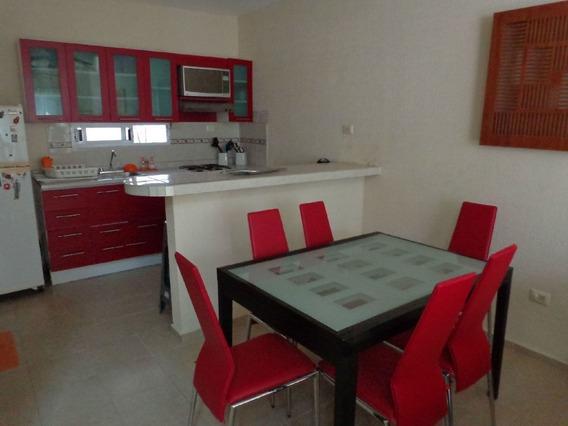 Casa En Renta Amueblada En Bosque Real Playa Del Carmen