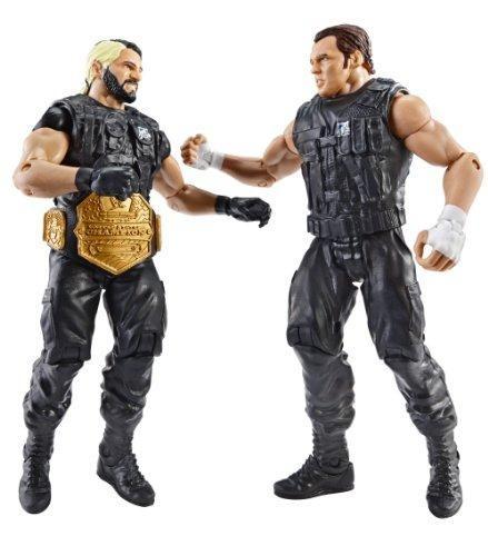 Figuras De Acción De Seth Rollins Y Dean Ambrose Wwe 2 Uds.