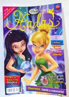 Revista Disney Hadas El Mundo De Tinkerbell Numero 24