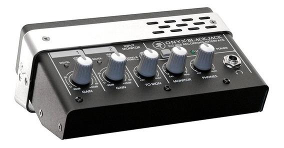 Interface Mackie Onyx Black Jack 2x2 Usb