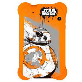 Case Para Tablet 7 Polegadas Star Wars Laranja - Pr940