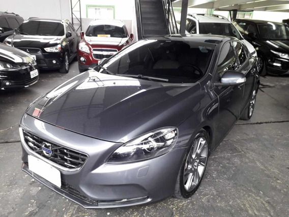 Volvo V40 Dynamic 2.0 T4 2013 Cinza Com Teto