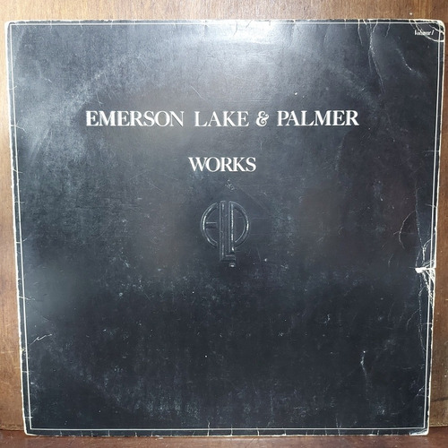 Vinil Lp Emerson Lake And Palmer Works Duplo 1977