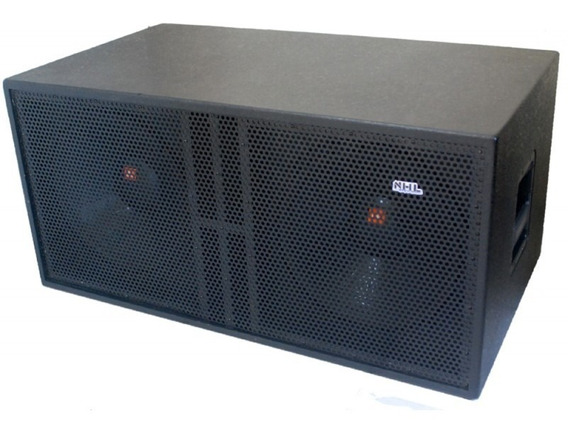 Caixa Sub 15 Ativa Duplo 1600w Amplificada Subwoofer 2x15