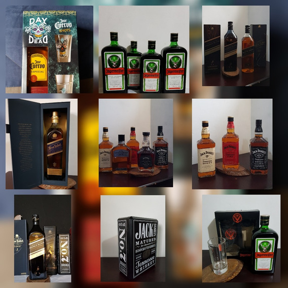 Whisky Jagermeister 1 Litro, Jager, Jack Daniels, Jack Honey