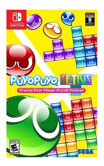 Puyopuyo Tetris Sega Nintendo Switch Mídia Física