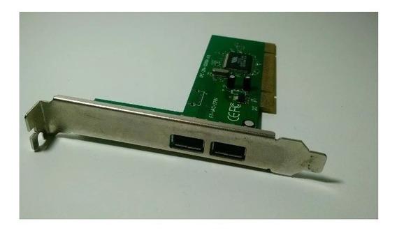 Placa Usb Pci Upc-204 P/ Computadores Antigos # Impecável
