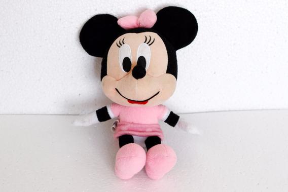 Minnie Mouse Rosa De Pelúcia Disney