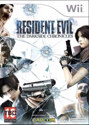 Jogo Resident Evil The Darkside Chronicles Pal - Wii Lacrado