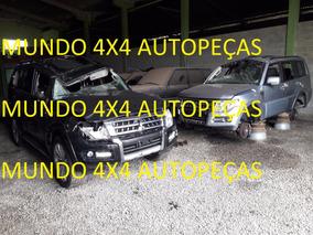 Sucata Pajero Full 3.2 200cv 2016 Com Motor E Cambio E Peças