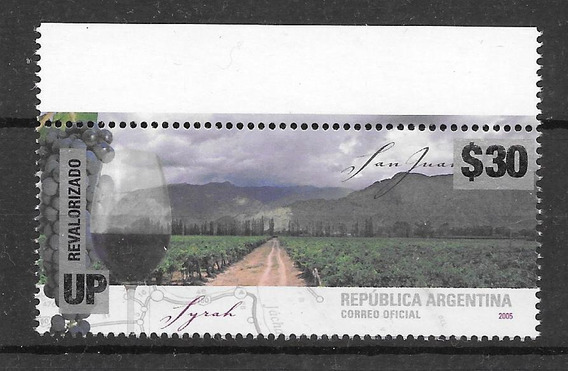 Argentina 2018 Revalorizado $30 Vinos San Juan Syrah Mint $$$$