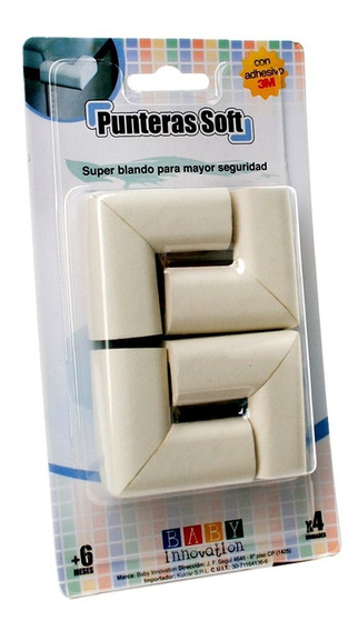 Punteras Soft Goma 3m Esquinero Para Mesa Baby Innovation