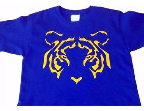 Camiseta Tigres Personalizada Infantil