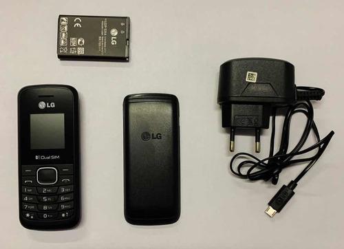 Celular LG B220 Com Lanterna, Radio, Entrada De Antena Rural