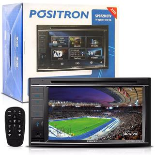 Dvd Player 2 Din 6,2 Sp8720dtv Bluetooth Usb Sd Aux Positron