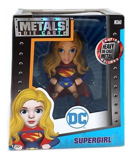 Metals Die Cast Muñeco De Metal Supergirl Jada Local Envíos
