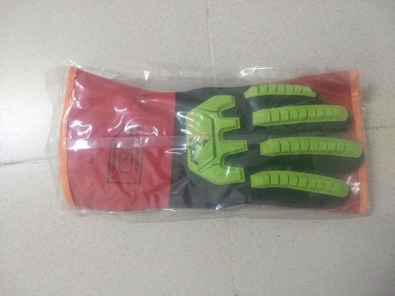 Guantes De Pvc Resistentes A Los Impactos Superior Glove
