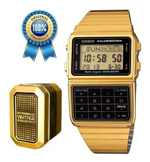 Reloj Casio Dbc611 Calculadora Retro