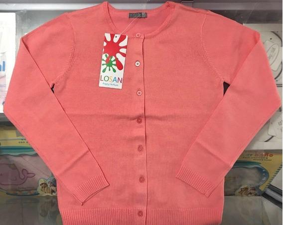 Sweater De Niña Losan X14-5001ab (mim)