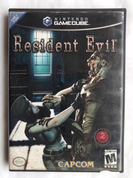 Resident Evil Gamecube Disco Duplo Original