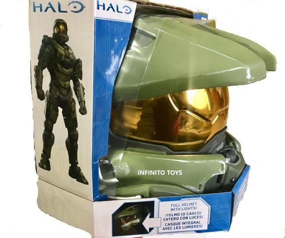 Casco Halo Master Chief Con Luces (licencia Oficial)