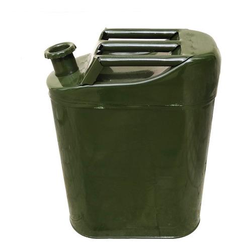 Imagen 1 de 6 de Bidón Tanque Metálico Combustible 10lts. - Electroimporta