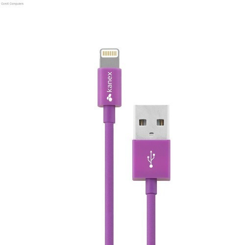 Cable Kanex Lightning Chargesync 4 Ft/1.2 M Morado