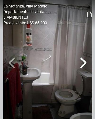 Imagen 1 de 12 de Ph En Venta Villa Madero 3 Ambientes