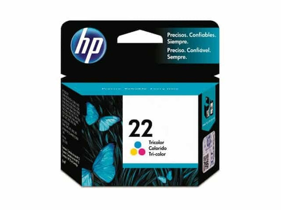 Cartucho Hp 22 (c9352al) (original) (color)