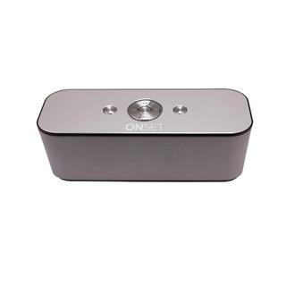 Parlante Bluetooth Onset Aluminium Plateado Inalambrico