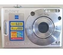 Câmera Digital Sony Dsc W30 6 Mega Pixel
