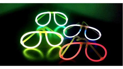 Imagem 1 de 1 de Óculos Neon Tipo Raiban Festa Casamento Brilho Kit Com 12 Un