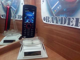Nokia Xpressmusic 5220 Rojo/negro Telcel -- Envío Gratis --
