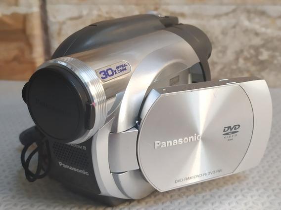 Filmadora Panasonic Vdr-d100pl Mini-dvd Funcionando