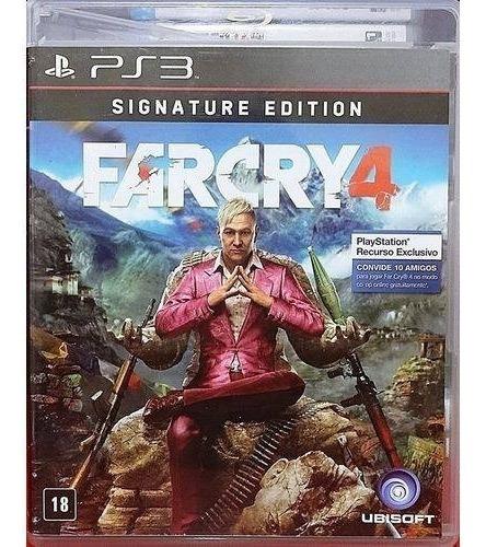 Jogo Farcry 4 - Signature Edition - Original - Ps3 Mídia Fís