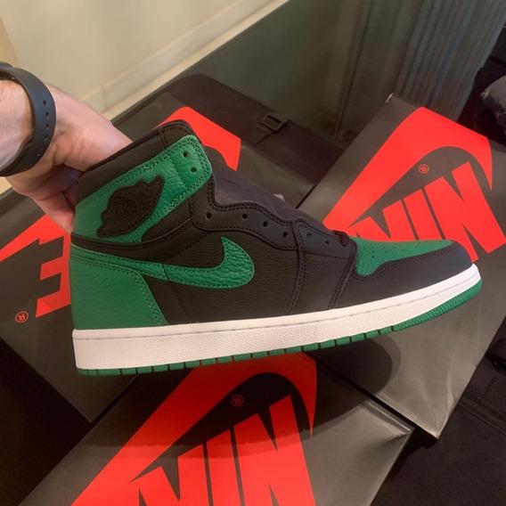 Tênis Nike Air Jordan 1 High Pine Green - Size: 43 Br.
