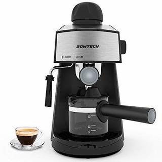 Máquina De Café Expreso De Vapor 800w 4 Taza Cafetera De Caf